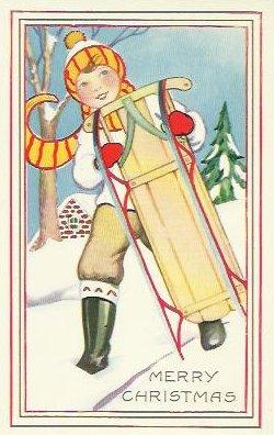 Christmas Postcard 1922