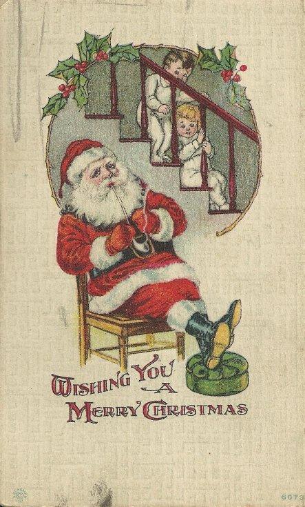 Christmas postcard 1918