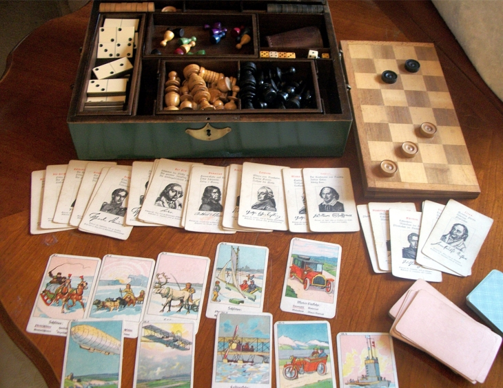 German wooden games compendium