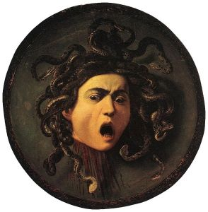Medusa by Caravaggio 1595