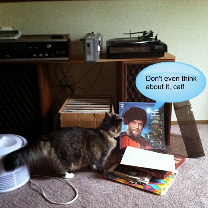 Opie and record player