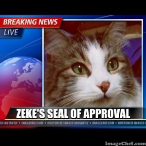zeke seal of approval