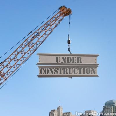 crane under construction