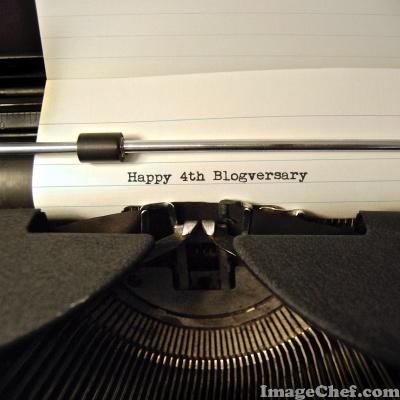 Happy 4th Blogversary