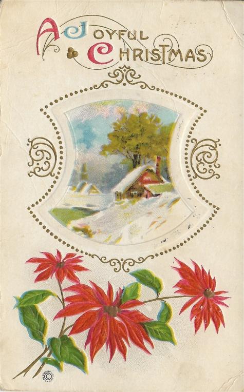 1916 Christmas postcard