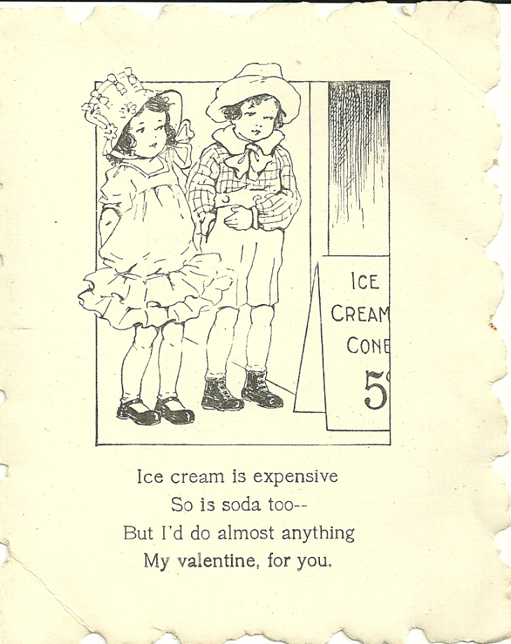 inside vintage valentines