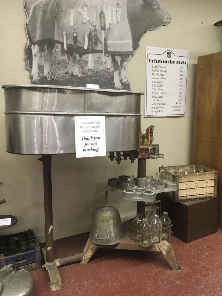 milk bottling machine