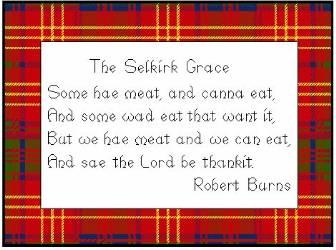 Selkirk Grace