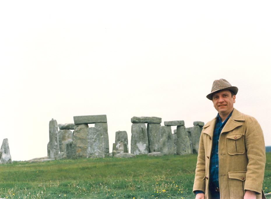 Greg at Stonehenge