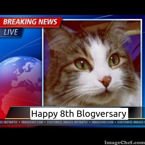 Happy 8th Blogversary